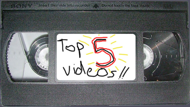 Top 5 videos this week!