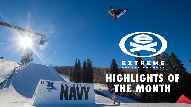 Extreme Sports Channel: January Highlights!