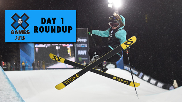 X Games Aspen: Day 1 - Bowman three-peats in Ski SuperPipe