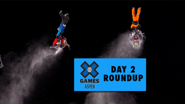 X Games Aspen: Day 2 - Four golds given in front of record crowds