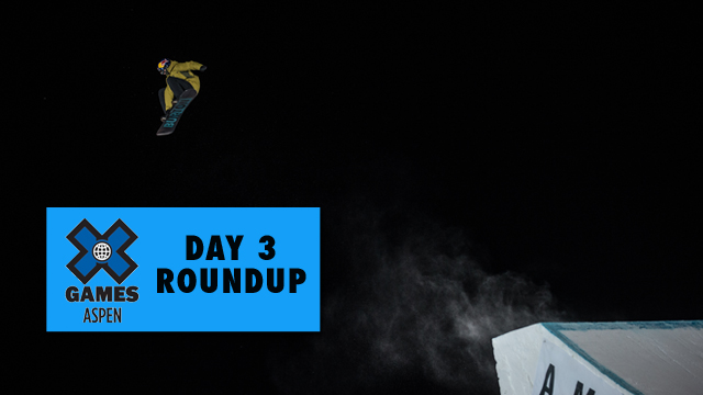 X Games Aspen: Day 3 - McMorris, Jacobellis add to gold medal haul