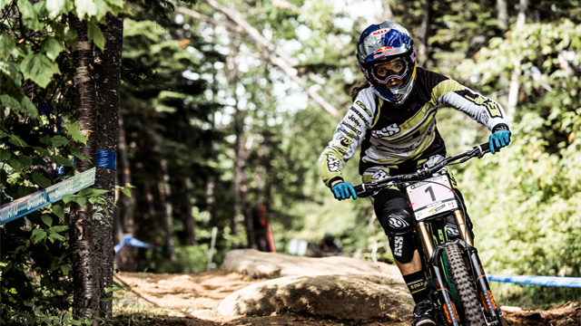 Bryceland and Atherton win Mont Sainte Anne Downhill World Cup