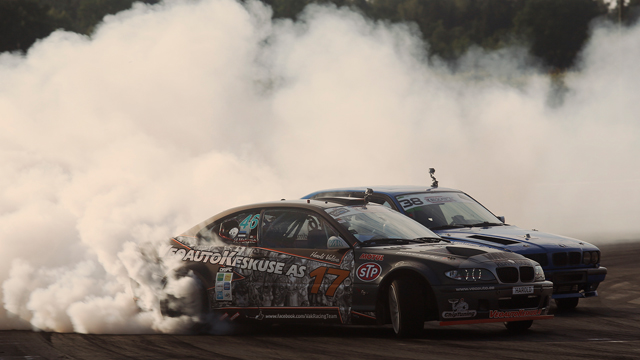 Piotr Więcek wins Extreme Drift Allstars in Estonia