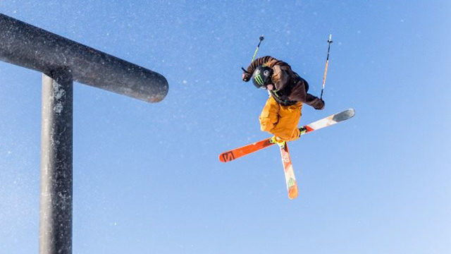 James Woods wins ski slopestyle in New Zealand