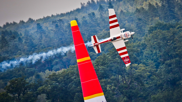 Britain's Paul Bonhomme wins Red Bull Air Race in Ascot