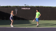 "Frame & Play: Level 2 - ""360 Spin"" with Sharapova, Stephens, Tomic"