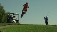 Ronnie Renner Shreds Golf Course on his KTM