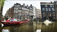 Wakeboarding The Canals of Amsterdam
