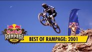 Thrills and spills from first ever Red Bull Rampage