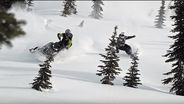 Epic snowmobile powder session with Travis Rice
