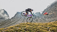 Fabio Wibmer tackles the Dolomites toughest singletrack
