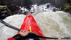Kayaking Over 70ft Falls