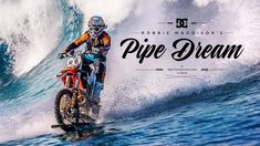 Robbie Maddison Rides Motorbike on Massive Waves
