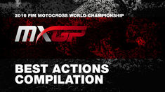 2016 MXGP & MX2 Best Actions Compilation