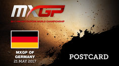 MXGP of Germany 2017_Postcard_Motocross