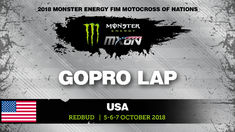 GoPro Track Preview - Monster Energy FIM MXoN 2018 USA  #motocross