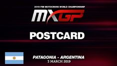 Postcard MXGP of Patagonia Argentina 2019 #motocross