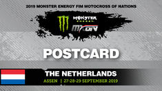 Monster Energy FIM MXoN 2019 Assen - postercard
