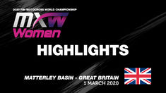 WMX Race 2 News Highlights MXGP of Great Britain 2020