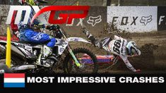 Most Impressive Crashes - MXGP of The Netherlands 2020