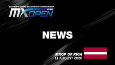 EMX OPEN Race 2 - News Highlights - MXGP of Riga 2020