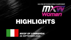 WMX News Highlights - MXGP of Lombardia 2020