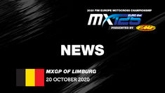 EMX125 Presented by FMF Racing News Highlights - Round of Limburg 2020