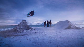 Northbound: Skateboarding on Frozen Sand 4K