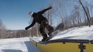 Seb Toots shreds his home mountain